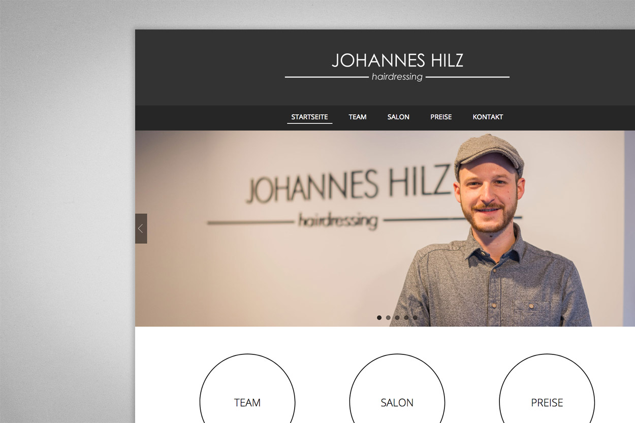 Johannes Hilz hairdressing